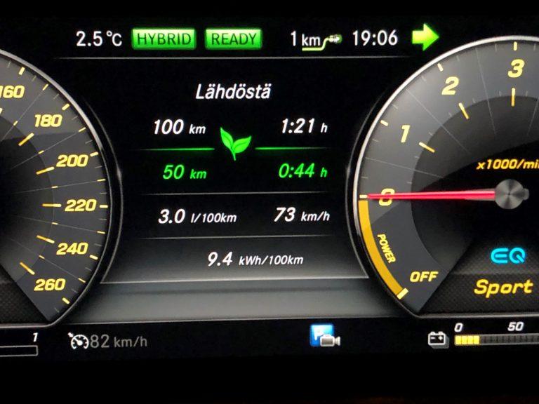 Maahantuojan testi: Dieselhybridi kulutti 3,0 litraa sadalla kilometrillä — puolet ajettiin dieselillä ja puolet sähköllä
