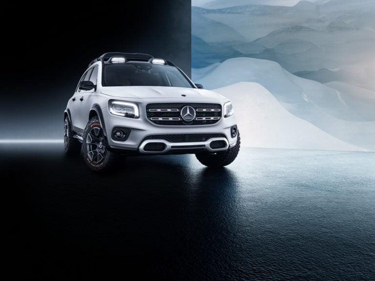 Mercedes-Benzin konseptiauto antaa viitteitä uudesta B-sarjan katumaasturista