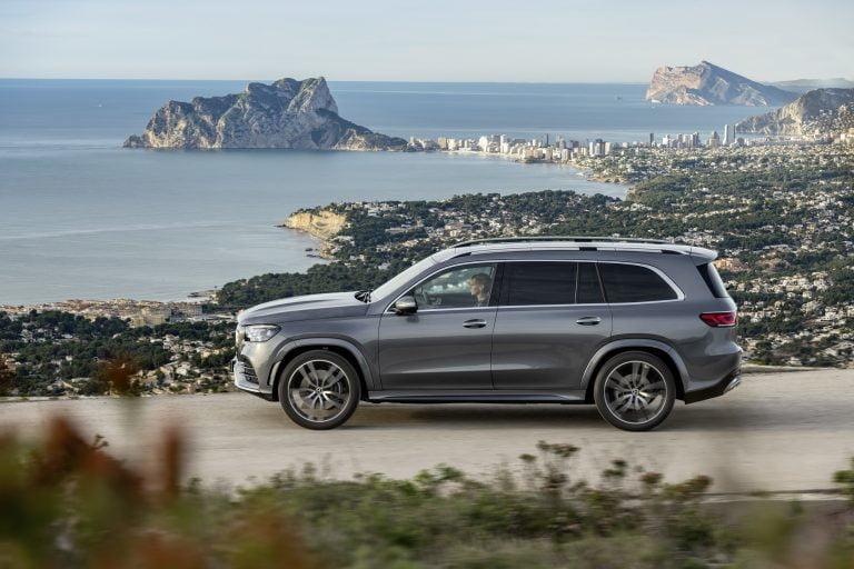 Tältä näyttää New Yorkissa esiteltävä uusi Mercedes-Benz GLS