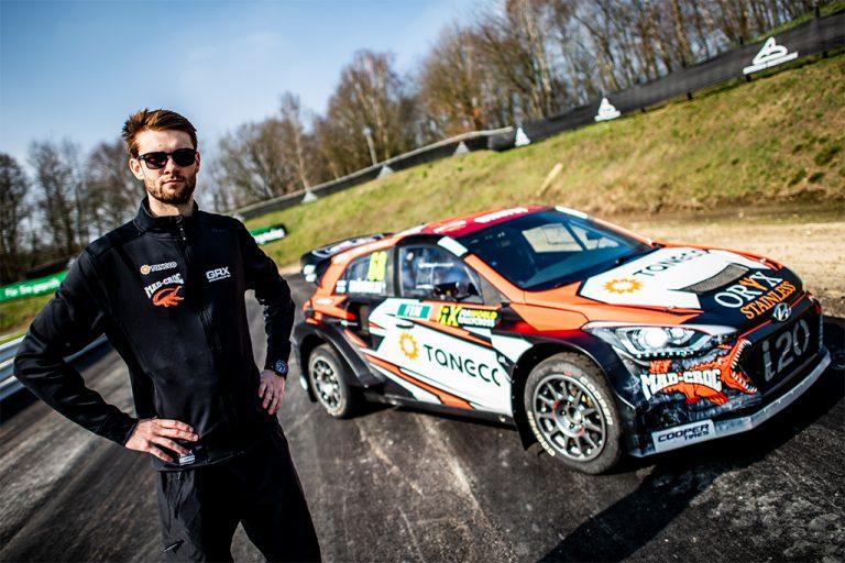 Rallicross: Niclas Grönholm tähtää yhä korkeammalle MM-sarjassa