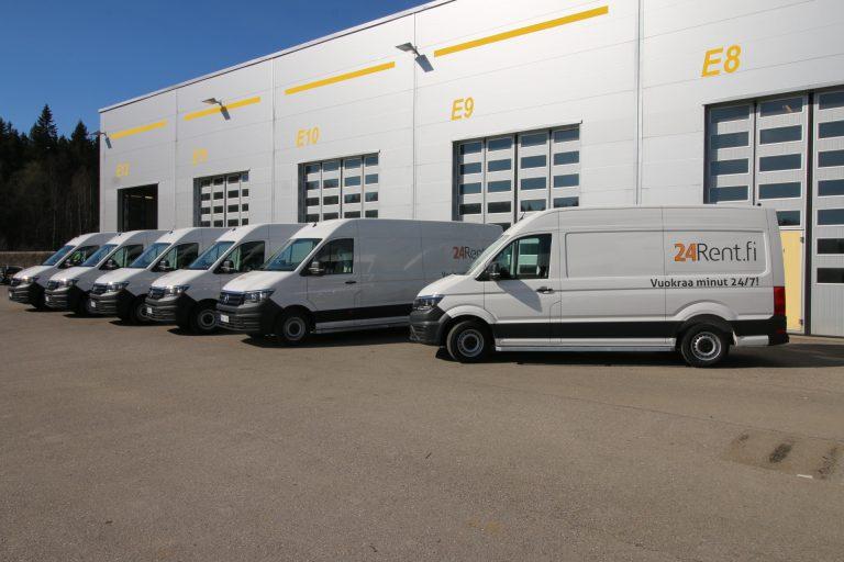 Autojen yhteiskäyttöoperaattori ostaa pakettiautoja 2,5 miljoonalla
