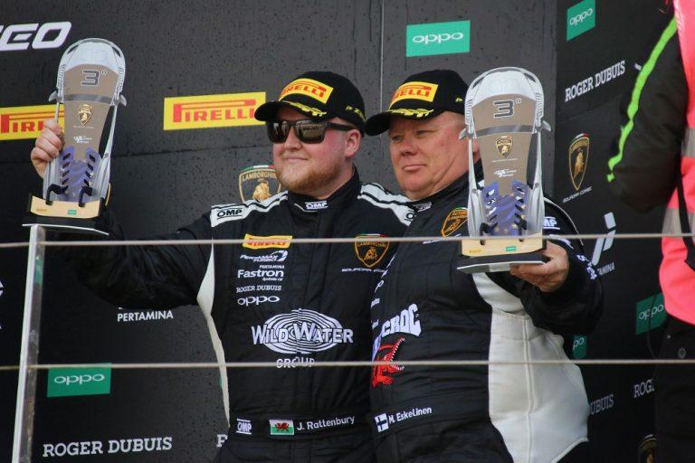 Lamborghini Super Trofeo EM -sarja käynnistyi suomalaisittain palkintopallisijoituksella