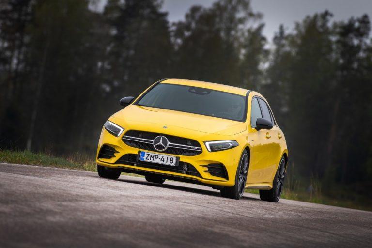 Tällainen on Mercedes-Benzin urheilullisen ajamisen uusi aloitusmalli