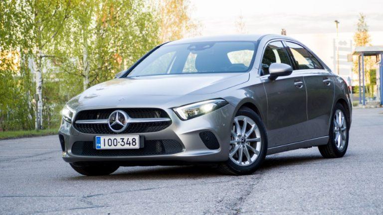 Autotoday testasi: Mercedes-Benz A-sedan 200 A Launch Edition Style — A saattaa hämätä