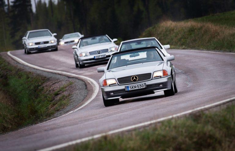 Neljäs Mercedes-Benz SL-mallisarja (Sport Leicht) 30 vuoden ikään