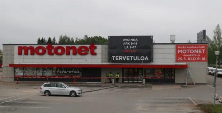 Ensimmäinen pienemmille talousalueille suunniteltu Motonet avattiin