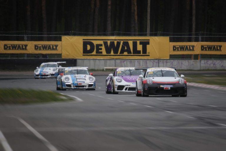 Porschen Pohjois-Euroopan ratakausi avattiin Latviassa