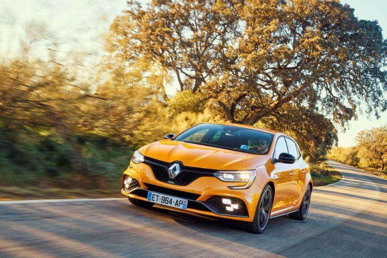 Renault Méganen urheilulliset huippumallit tulevat Suomeen