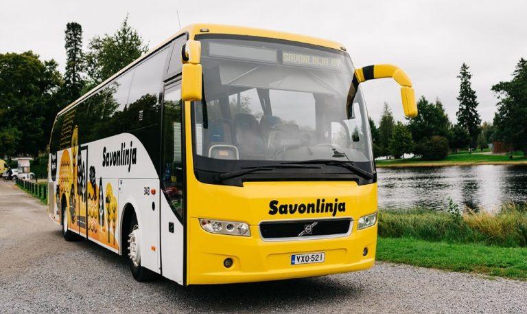 Bussimatkustaja voi lisämaksun avulla vähentää bussipäästöjä