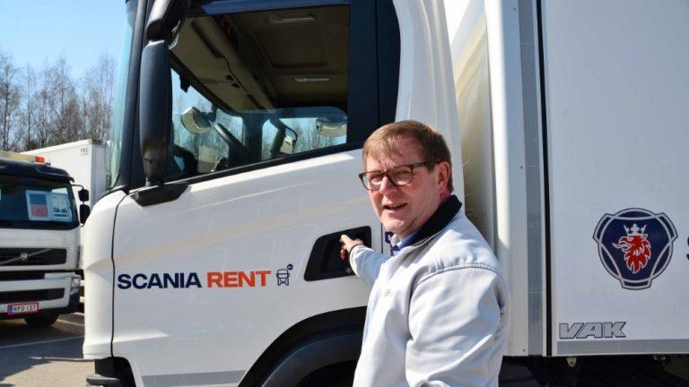 Scania aloittaa kuorma-autojen vuokrauksen