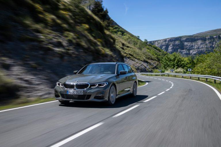 Tällainen uusi BMW 3-sarjan Touring-malli markkinoille syyskuussa
