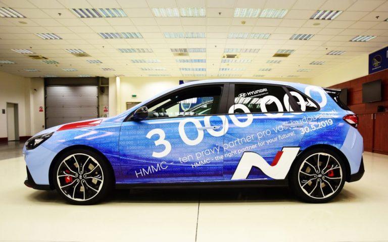Hyundain Tšekin autotehtaalla valmistettu jo kolme miljoonaa henkilöautoa