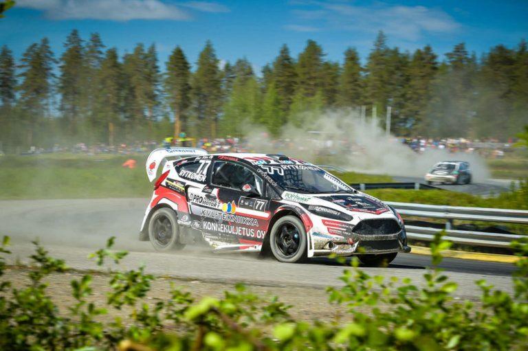 Rallicross: Juha Rytkönen uransa ensimmäiseen voittoon SuperCar-luokassa