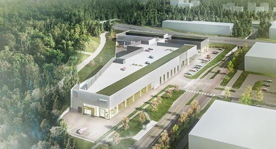 LänsiAuto avasi Espooseen uuden autotalon