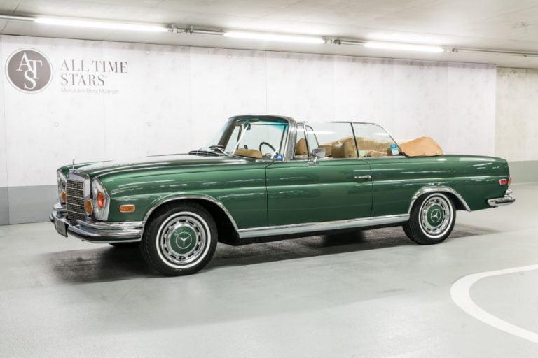 Mercedes-Benzin W111-automalli 60 vuoden ikään  — mallilla voitettiin myös Jyväskylän suurajot