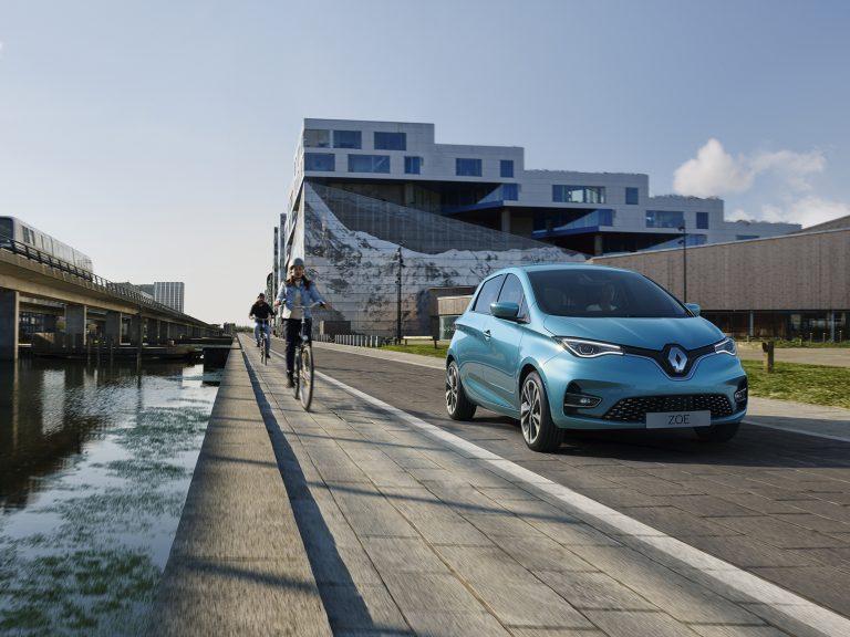 Sähköisestä Renault Zoe -mallista kolmas sukupolvi syksyllä — toimintamatka vajaa 400 km