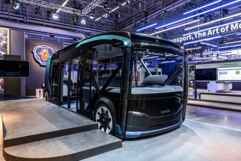 Tältä näyttää Scanian tulevaisuuden visio vuodelle 2030