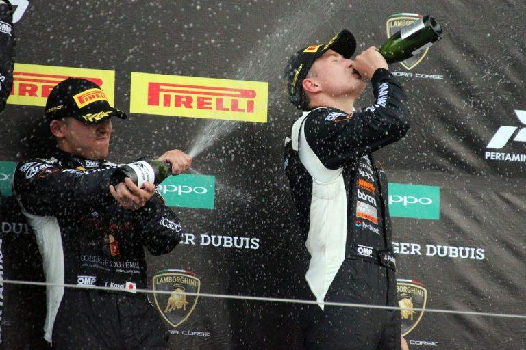 Lamborghini-sarja: Juuso Puhakka kellotti uuden rataennätyksen Japanin Suzukan kilparadalle