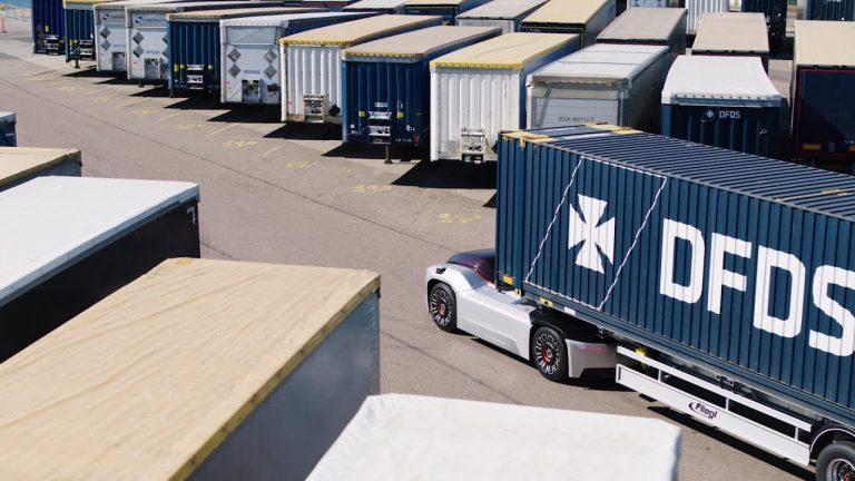 Robottiauto Volvo Trucks Vera on saanut ensimmäisen tehtävänsä