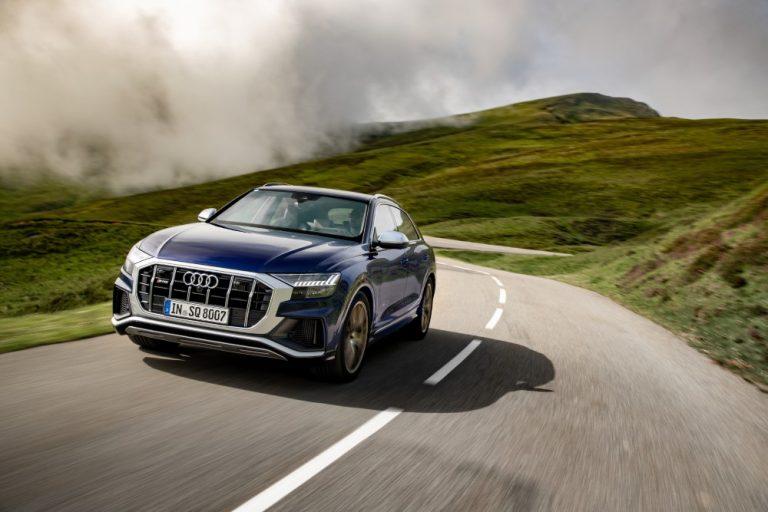 Audi SQ8 TDI -mallissa on Euroopan markkinoiden tehokkain dieselmoottori