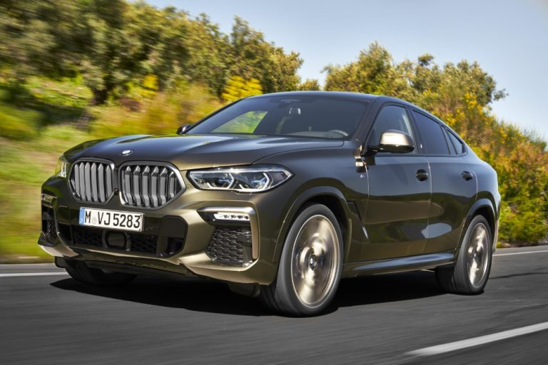 Uusi BMW X6 tulee markkinoille marraskuussa — kokoa tullut hieman lisää