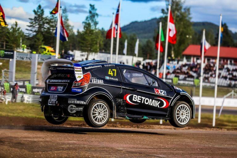 Rallicross: Molemmat suomalaiset neljän joukkoon Ruotsin RX2-kisassa