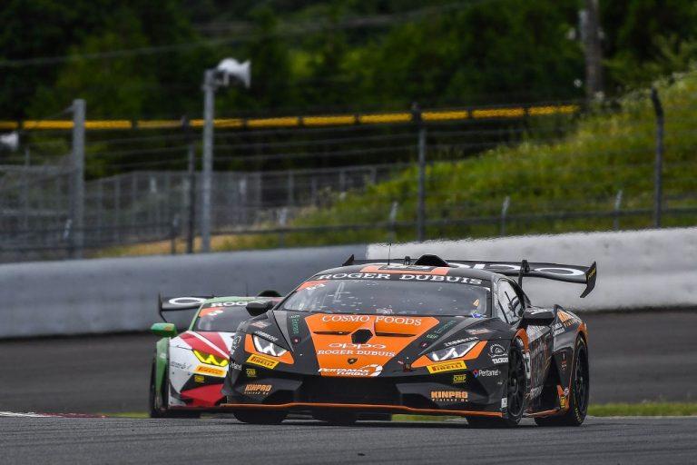 Lamborghini-sarja: Rengasrikko pilasi Juuso Puhakan tuloksen Lamborghini Super Trofeo ratasarjan MM-kilpailuissa