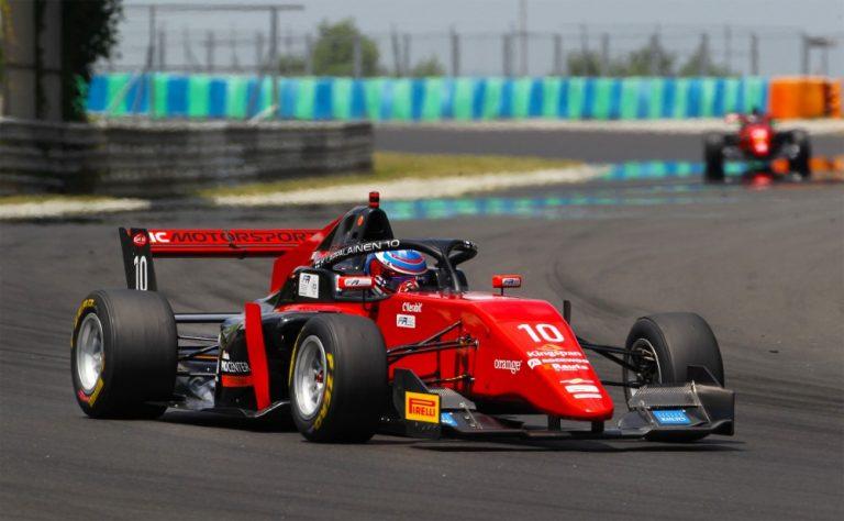 Formula 3: Lappalainen kahdesti EM-pisteille Unkarissa