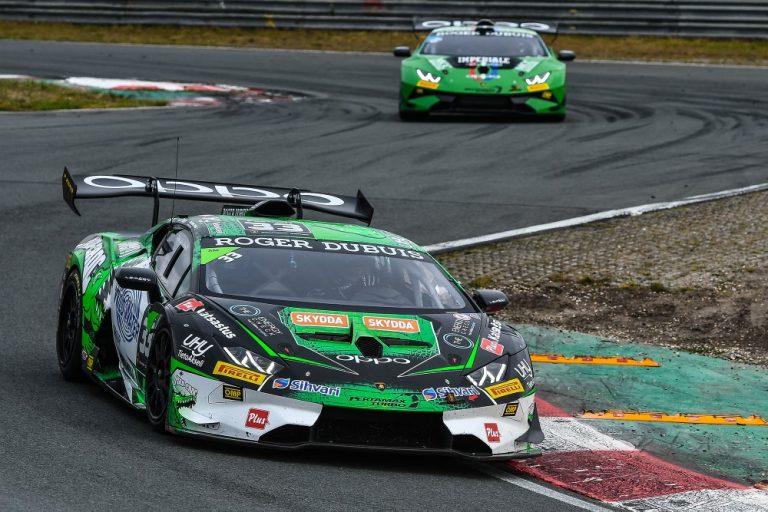Lamborghini-sarja: Mikko Eskeliselle voitto Belgian ensimmäisessä kisassa