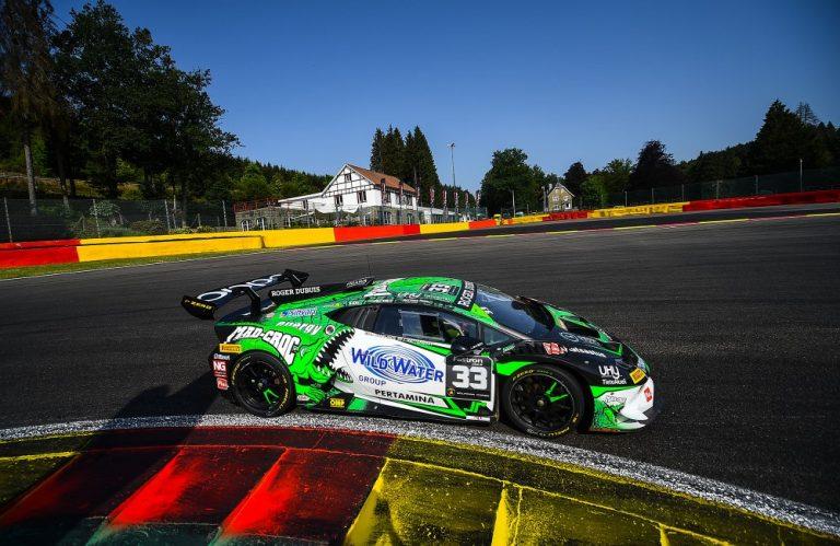 Lamborghini-sarja: Mikko Eskelinen keskeytti päivän kisan Belgiassa
