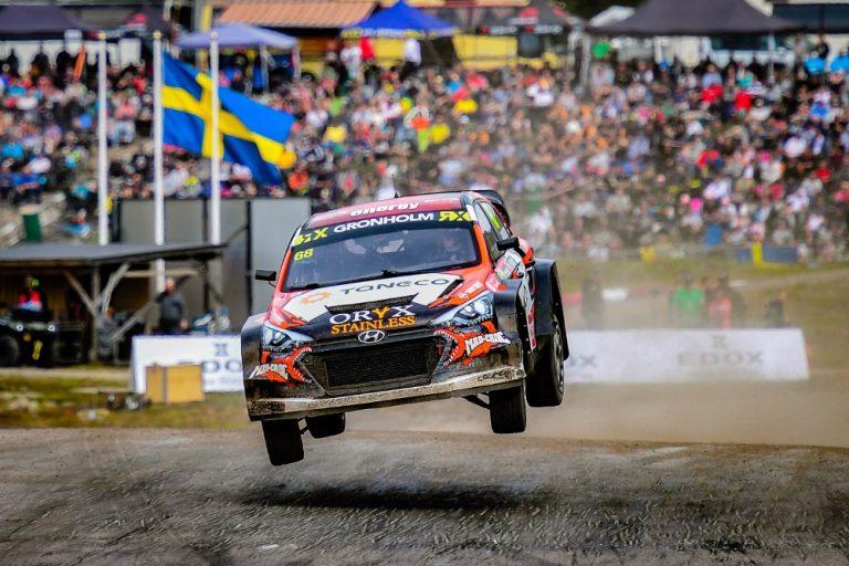 Rallicross: Grönholm ei yltänyt finaalissa palkintopallille
