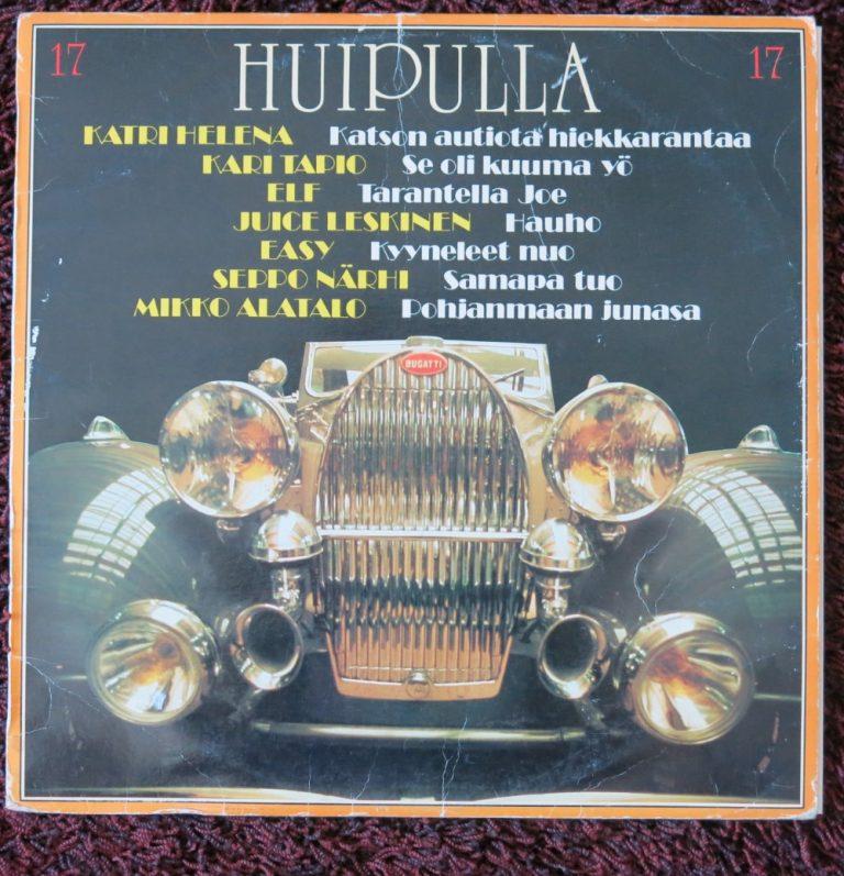 Päivän levynkansi: Bugattin koristama Huipulla 17