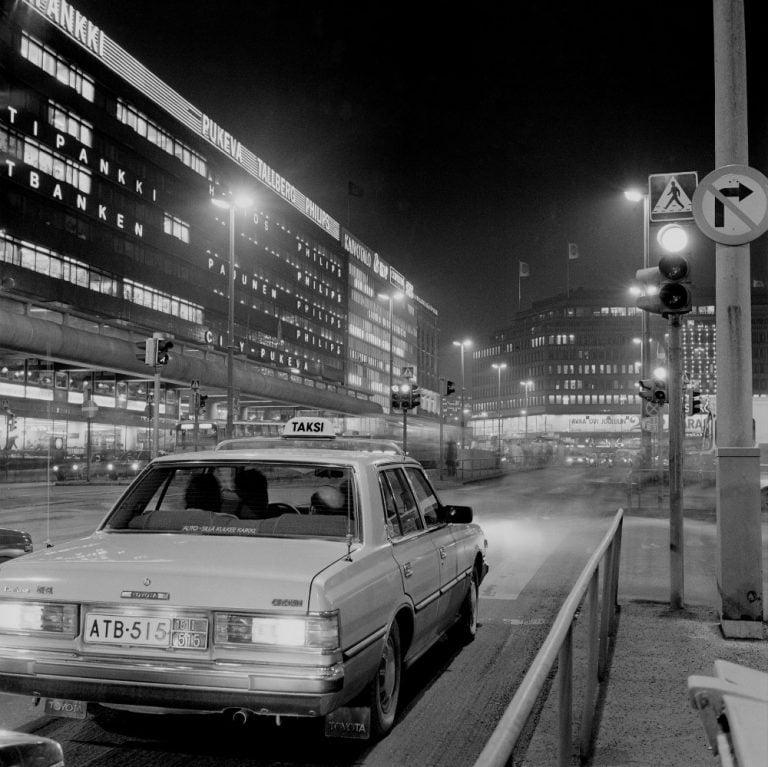 Päivän taksiauto: Toyotan suosittu taksiauto