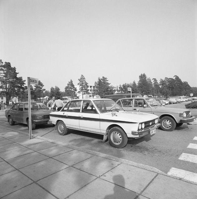 Päivän taksiauto: Kolme taksiautoa Espoossa 1980-luvulla