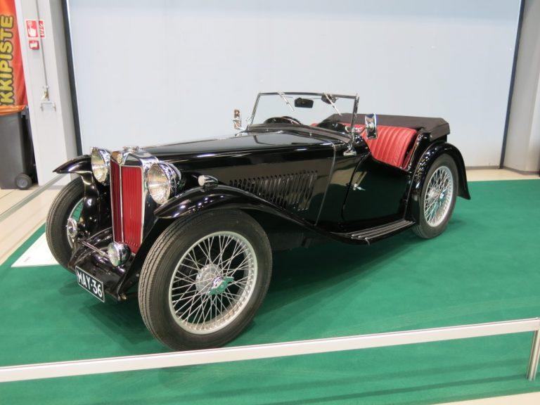 Päivän urheiluauto: MG TA Midget 1936