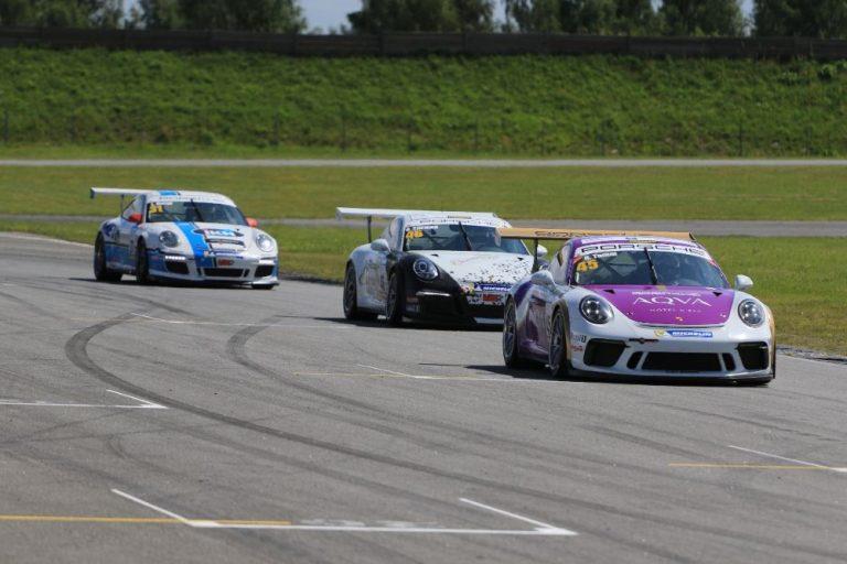 Pohjois-Euroopan Porsche-sarjan kauden toinen osakilpailu tarjosi draamaa, jännitystä ja viihdettä