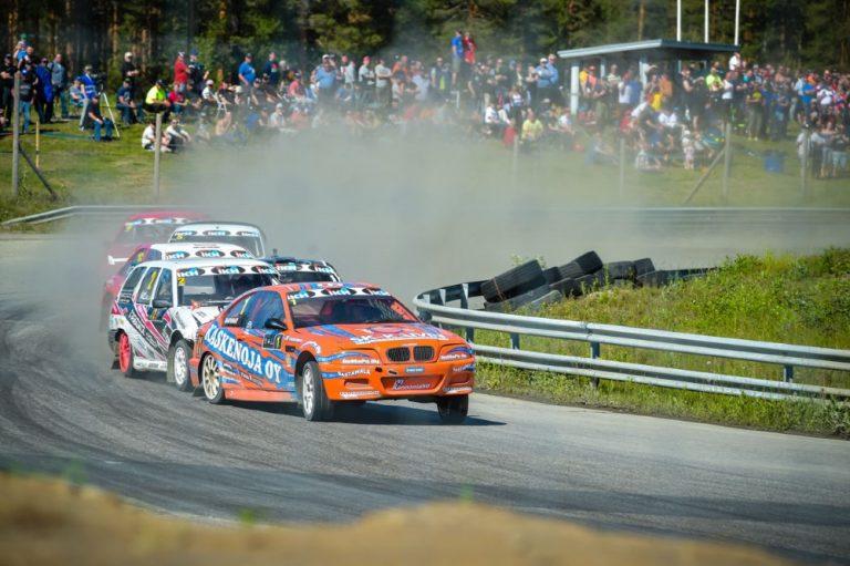 Rallicrossin SM-pistetaistelu kiihtyy lauantaina Botniaringillä