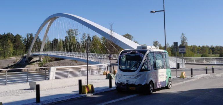 Helsinki maailman aktiivisimpia robottibussien testikaupunkeja