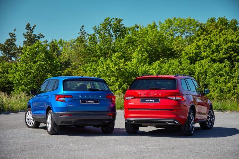 Škoda Karoqin ja Kodiaqin ensi vuoden malleihin uutta tekniikkaa