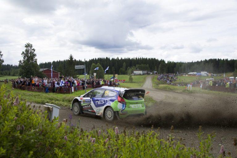 Suomen MM-rallissa tehdään Churrotemppu