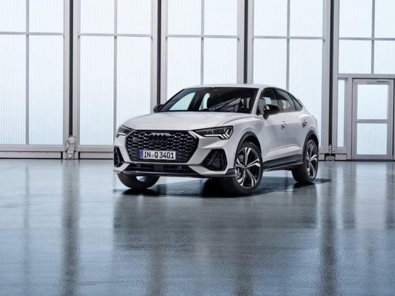 Audin SUV-perhe kasvaa kompaktilla coupé-mallilla