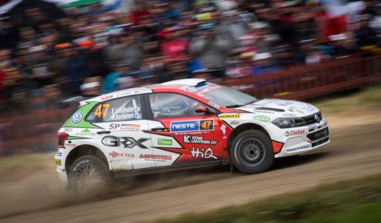 WRC: Emil Lindholmille jo toinen keskeytys Jyväskylässä