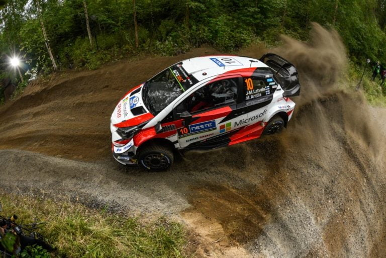 WRC: Latvala lähestyy Lappia