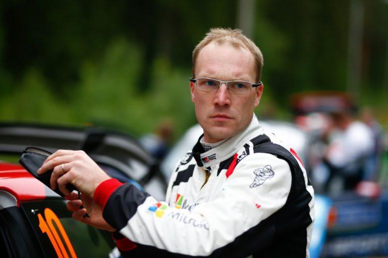 WRC: Latvala nousi kolmanneksi