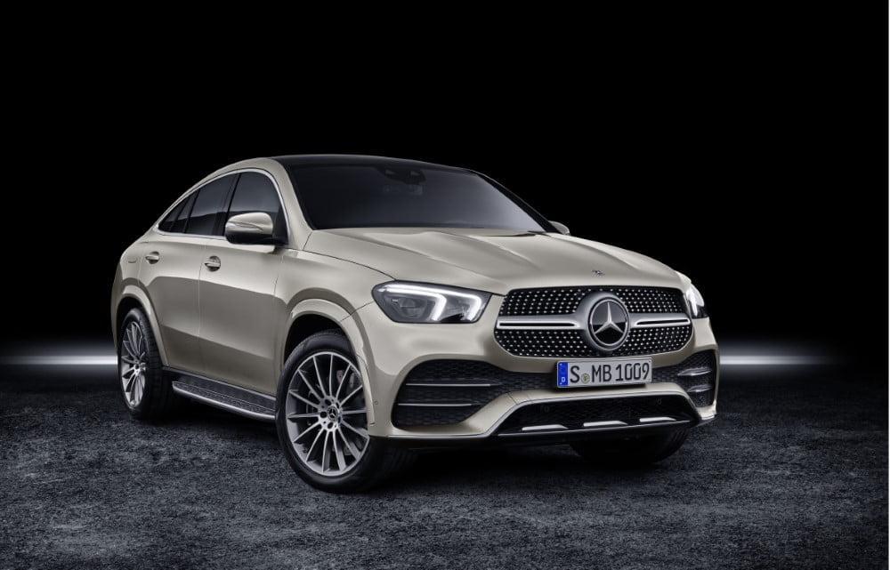 Mercedes Gle Coupe >> Mercedes Benz Frankfurtin Autonayttelyssa Gle Coupe Ja Gle