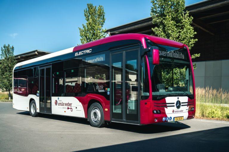 Ruotsiin ja Norjaan Mercedes-Benzin sähköbusseja
