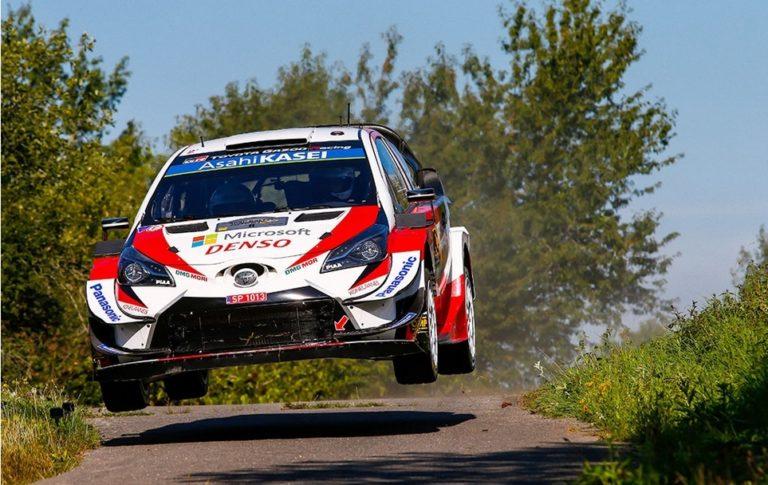 WRC: Toyotan Saksan MM-rallin kolmoisjohto piti loppuun asti