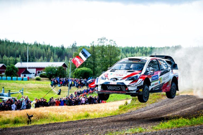WRC: Kohti voittoa ajava Ott Tänak oli syystäkin iloinen