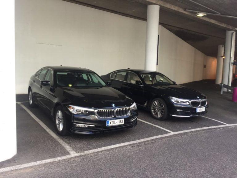 Päivän taksiauto: BMW 520d ja BMW 730d