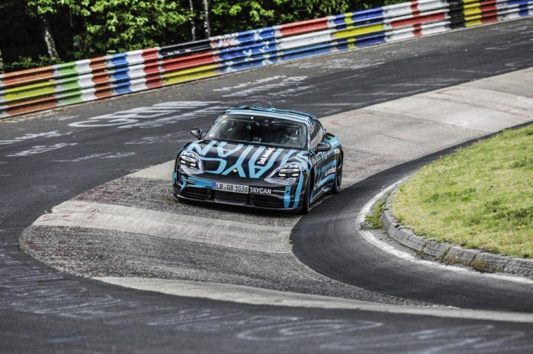 Porsche Taycan — uusi ennätys Nürburgringin Nordschleifella